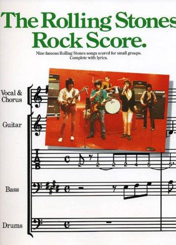 9780711905566: The Rolling Stones: Rock Score