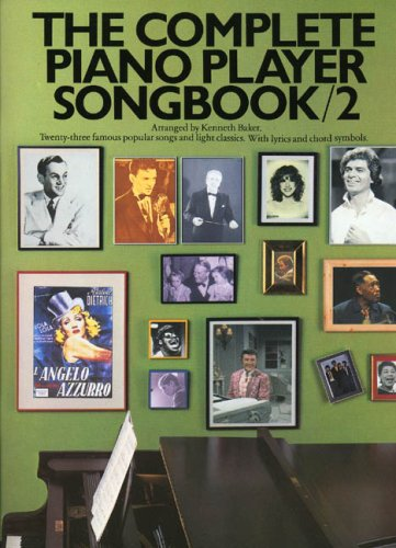 9780711906433: THE COMPLETE PIANO PLAYER SONGBOOK: NO 2