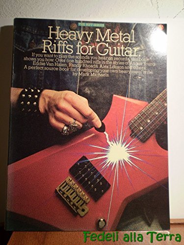 9780711906549: Heavy metal Riffs for guitar