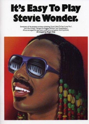 9780711907072: It's Easy to Play Stevie Wonder