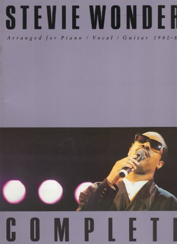 9780711907614: Complete Stevie Wonder 1980-85