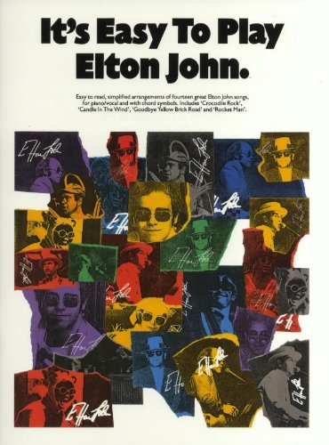 9780711908093: It's Easy to Play Elton John: Piano Arrangements