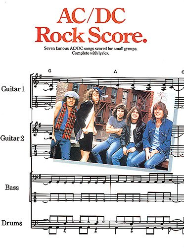 9780711909496: Ac/Dc: Rock Score