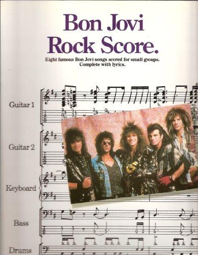 9780711913912: Bon Jovi - Rock Score