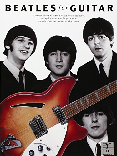 Beatles Guitar - Folio of 52 of: WISE PUBLICATIONS
