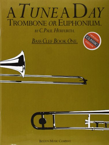 9780711915800: A Tune A Day For Trombone Or Euphonium Bass Clef Book One (Book 1)