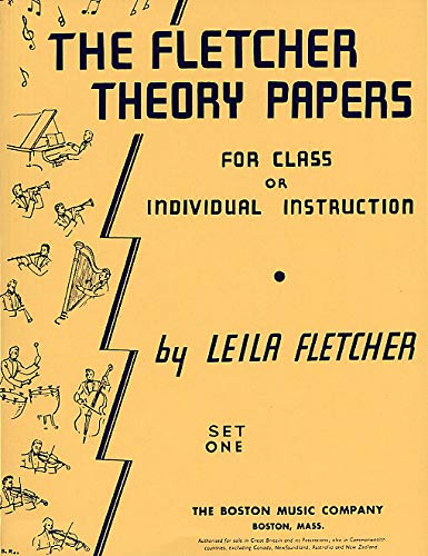 The Fletcher Theory Papers Book 1 (Theory): Fletcher, Leila (Artist)