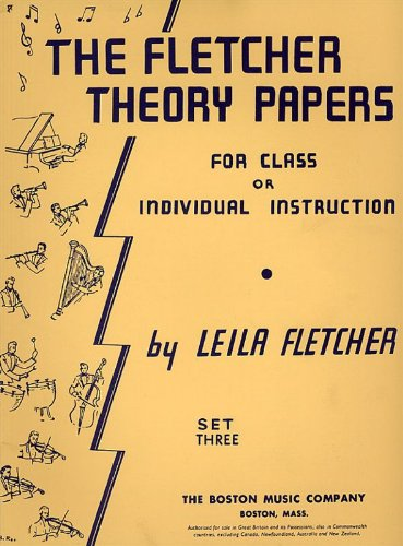 9780711916036: The Fletcher Theory Papers Book 3