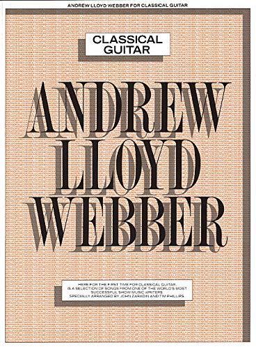 9780711916197: Andrew Lloyd Webber Classical Guitar Gtr