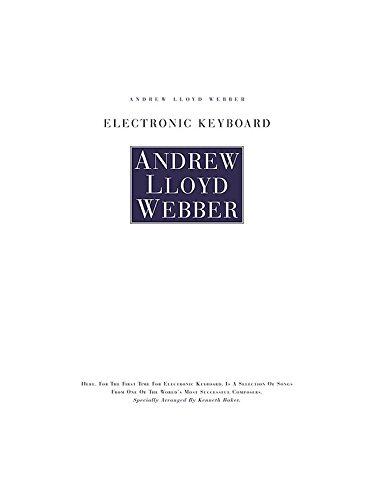 9780711916203: Andrew Lloyd Webber Electronic Keyboard