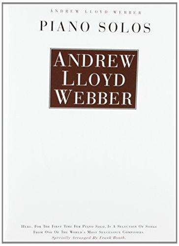 9780711916210: Andrew Lloyd Weber Piano Solos (Music)