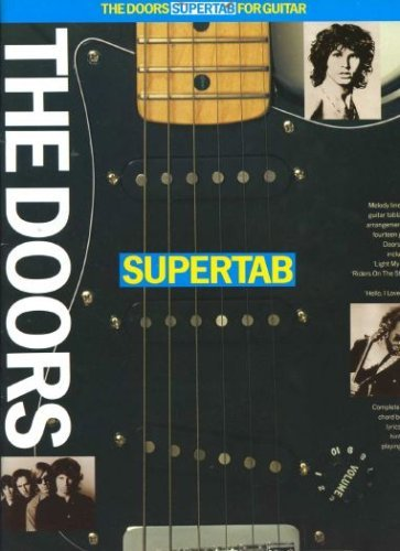 9780711917224: Supertab: For guitar : melody line and guitar tablature arrangements of fourteen great Doors hits
