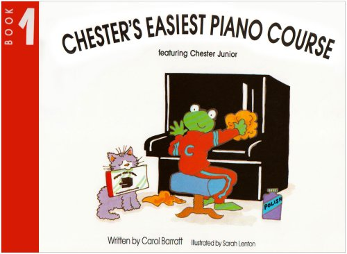 BARRATT CHESTER'S EASIEST PIANO COURSE BOOK 1 **WHEN OUT SEE 14009812*** (Bk.1) (0711919445) by [???]