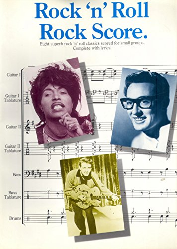 9780711919938: Rock n roll rock score: Eight superb rock n roll classics scored for small groups