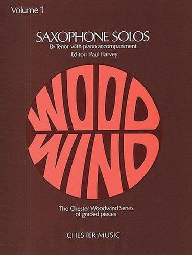 9780711920033: SAXOPHONE SOLOS B-FLAT TENOR W/PIANO ACCOMPANIMENT VOLUME 1