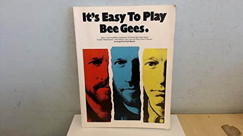9780711920736: It's easy to play Bee Gees