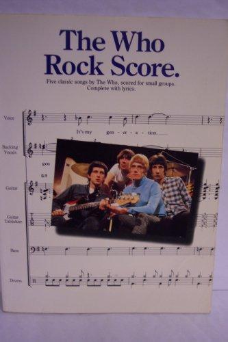 9780711920965: The Who: Rock Score