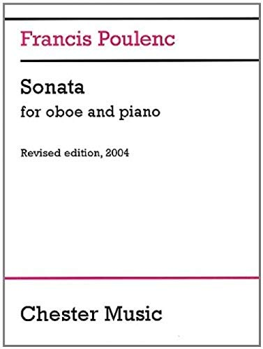 9780711922358: Sonata for Oboe and Piano