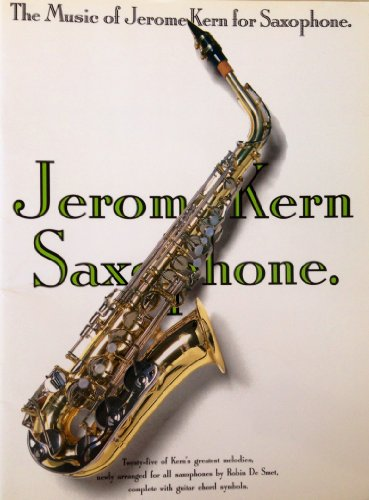 9780711923515: The Music of Jerome Kern: Saxophone (Book & CD)