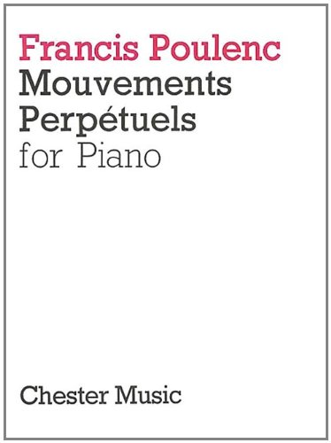 9780711923638: Mouvements Perpetuels: for Piano