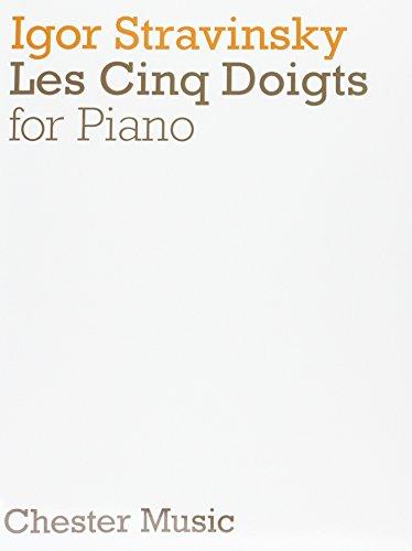 9780711923645: Igor Stravinsky: Les Cinq Doigts