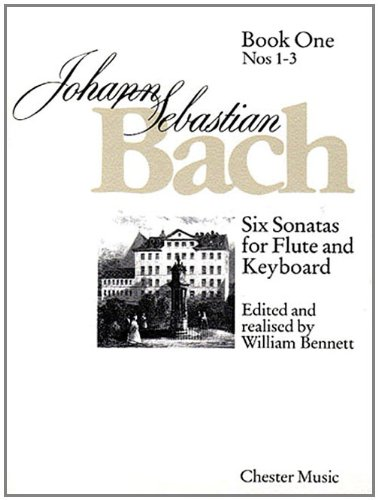 9780711925434: 6 Sonatas for Flute and Keyboard: Book One (Nos. 1-3): Six Sonatas for Flute and Keyboard: Numbers 1 - 3 Bk. 1