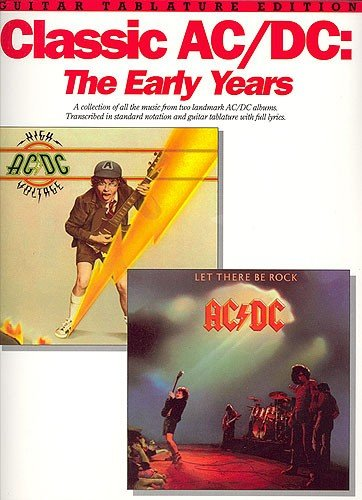 9780711927308: Classic AC/DC: The Early Years (Tab)
