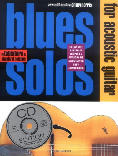 9780711927896: Blues Solos for Acoustic Guitar: In Tablature & Standard Notation