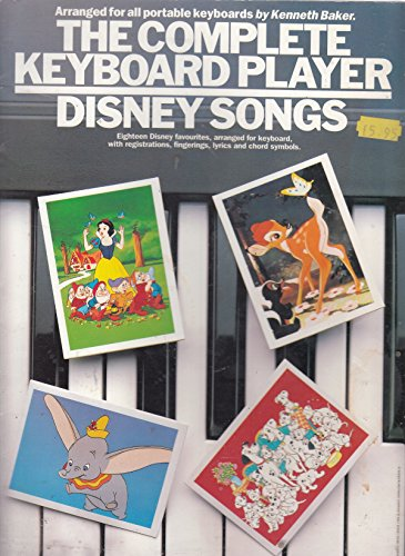 9780711928183: The Complete keyboard player: Disney songs