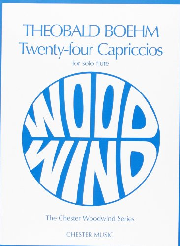 9780711928190: TWENTY-FOUR 24 CAPRICCIOS SOLO FLUTE (Chester Woodwind Series of Graded Pieces)