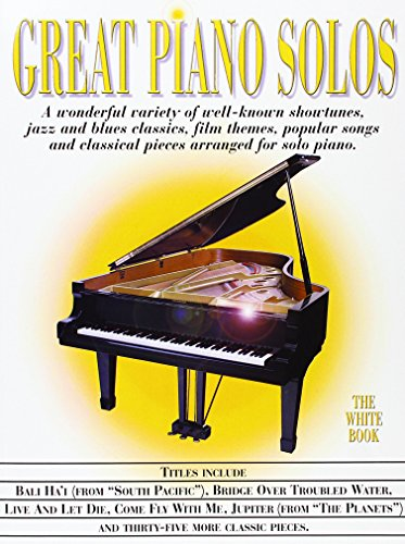 9780711930568: Great Piano Solos The White Book
