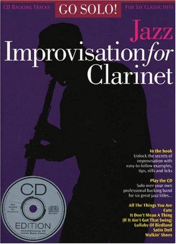 9780711931459: Go Solo! Jazz Improvisation for Clarinet