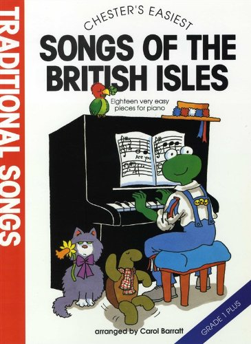 9780711932555: CHESTER'S EASIEST TRADITIONAL SONGS OF THE BRITISH ISLES (BARRATT, CAR