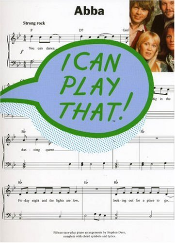 9780711933620: ABBA - I Can Play That!