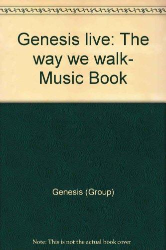 9780711933750: Genesis live: The way we walk- Music Book