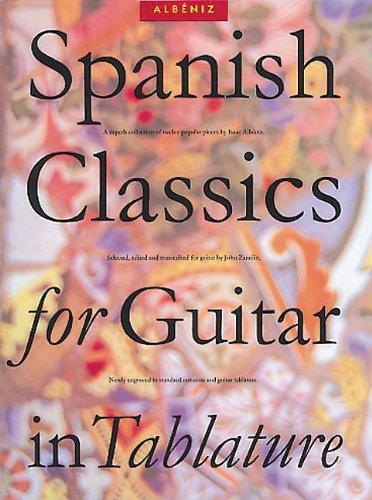 9780711934115: Spanish Classics for Guitar in Tablature (Classical Guitar)