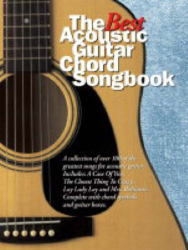 9780711934795: The Best Acoustic Guitar Chord Songbook Lyrics & Chords Books
