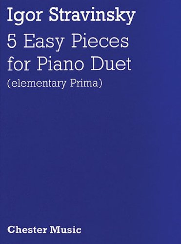 9780711935716: FIVE EASY PIECES FOR PIANO DUET (ELEMENTARY PRIMA)