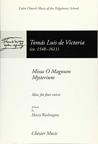 9780711935761: Missa O Magnum Mysterium: (Mass for 4 Voices) (The Chester Books of Motets)