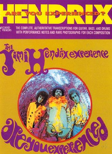9780711936546: Hendrix: Are You Experienced? The Jimi Hendrix Experience Guitar Tabulature