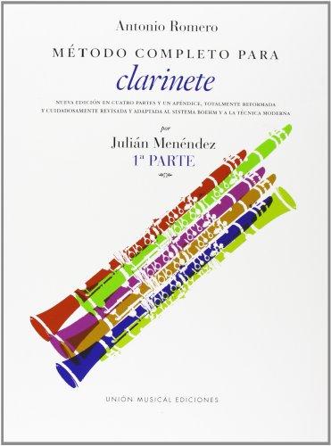 9780711936874: Romero: Metodo Competo Para Clarinete Parte 1