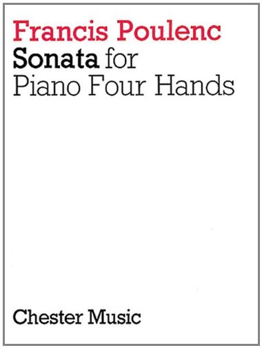 9780711937901: Sonata for Piano 4 Hands