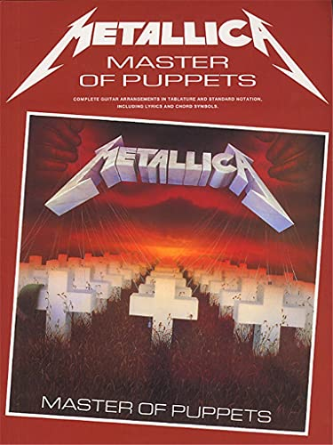 9780711938045: Metallica: Master of Puppets (Guitar/Vocal with Tablature)