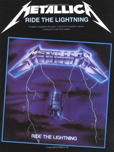 9780711938052: Metallica: Ride the Lightning Guitar (Tab Edition)
