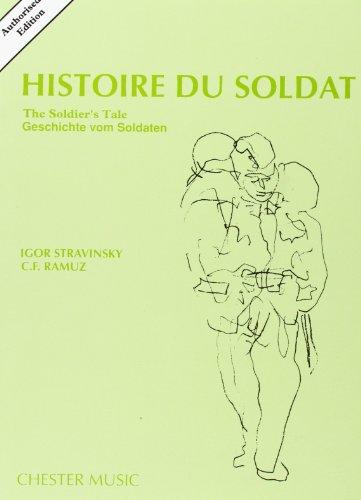 9780711938410: Igor Stravinsky: Histoire du Soldat (the Soldier'S Tale) Poche