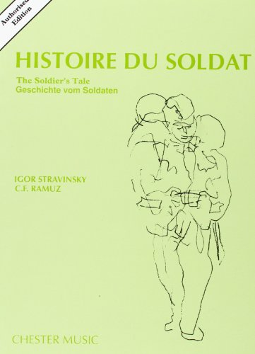 9780711938410: STRAVINSKY HISTOIRE DU SOLDAT - AUTHORISED NEW EDITION 1987 ST SC (English, French and German Edition)