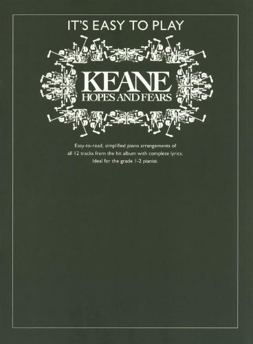 9780711938922: Keane: Hopes and Fears (It's Easy to Play)