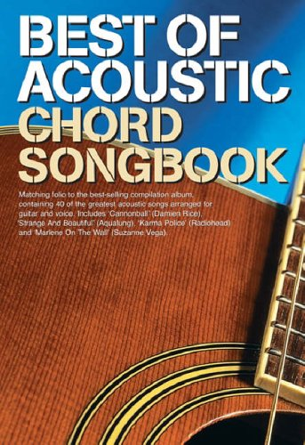 9780711939004: Best of Acoustic: Guitar Chord Songbook