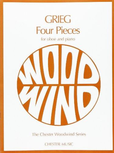 9780711939462: Grieg Four Pieces (Blake) Oboe/Pf