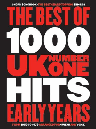 9780711940192: The Best of 1000 U.K. No1 Hits: Chord Songbook: The Early Years